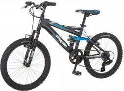 20 Mongoose Ledge 2.1 Boys Mountain Bike, Black