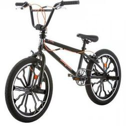 "20"" Mongoose Rebel Steel Freestyle Frame Kid Child BMX Bike"