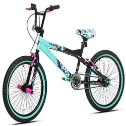 """Kent 20"""" Tempest Girl'S Bike, Black/Green, For Height Sizes"""