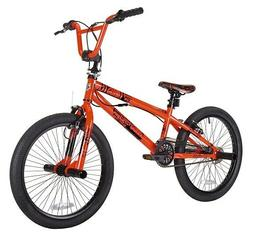 "KENT 20"" THRUSTER BOY'S CHAOS BMX BIKE, NEON ORANGE, FOR HEI"