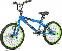 Kent 20' Transfer Freestyle Boy's Bike, Blue/Green, For Heig