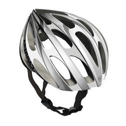 Carrera 2013 Unisex Razor X-Press Road Helmet Silver White L