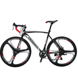 Road Bike Shimano 21 Speed Bicycle 700C Superior Mens Bikes