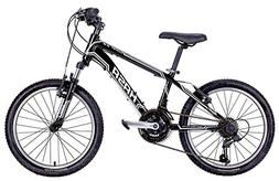 HASA 2018 18 Speed Kids Mountain Bike  20 INCH Black