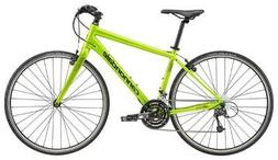 2018 Cannondale Quick 4 Hybrid Bike Acid Green Small