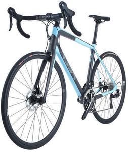 2018 Felt VR5 Carbon Fiber 105 DISC Road Bike Char/Lt Blue 4