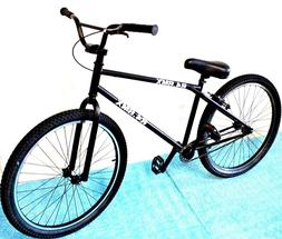 "2019 R4 26"" Complete BMX Cruiser Bike Bicycle With Pegs  Fas"