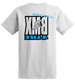 2019 Hot sale Fashion JUST RIDE BMX 4 LIFE SHIRT <font><b>BI