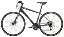 2019 CANNONDALE QUICK DISC 5 HYBRID BIKE, SMALL, NEARLY BLAC
