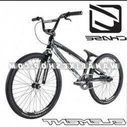 "2021 CHASE ELEMENT PRO CRUISER 24"" Complete BMX Bike Black/W"