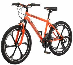 "Mongoose 24"" Boy's Alert Mag Wheel Bike, Orange NEW"