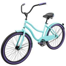 "Huffy 24"" Cranbrook Women's Comfort Cruiser Bike, Periwinkle"