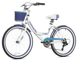 "Kent 24"" Girls Bayside Multi-Speed 7 Speed Drivetrain Female"