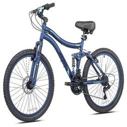 "Kent 24"" Girls' Bella Vista Bike Full Suspension Blue Adjust"