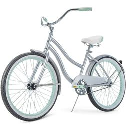 Huffy 24 Inch Cranbrook Girls' Cruiser Bike with Perfect Fit