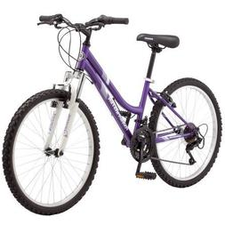 Roadmaster 24 Inches,  Granite Peak Girl's Mountain Bike, Pu