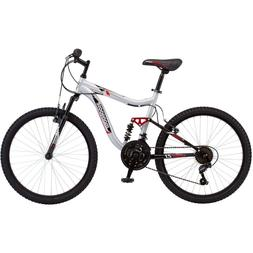 24'' Mongoose Ledge 2.1 Boys' Mountain Bike Silver youth 10
