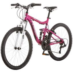 "Mountain Bike 24"" Mongoose Ledge 2.1 Girls Pink New"