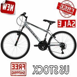 "24"" Mountain Bike Kids Boys Adults Bicycle 24 Inch MTB Cycli"
