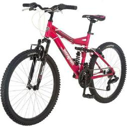 "24"" Pink Ledge 2.1 Girls' Mountain Bike Suitable For Ages 12"