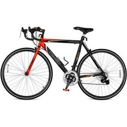 """25"""" GMC Denali 700c Men's Road Bike,Black-Orange New"""