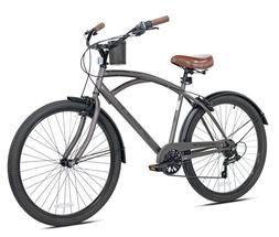"Kent 26"" Bayside Men's Cruiser Bike, Satin Cocoa"
