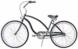 "26"" Beach 3 speed Cruiser Bike W/ Forward Crank Firmstrong C"