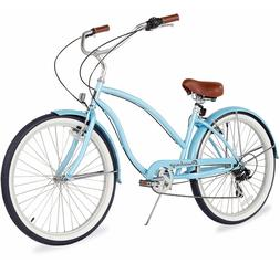 "26"" Beach Cruiser Bike Bicycle Firmstrong Chief Women 7 spd"