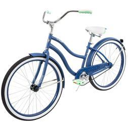 "Huffy 26"" Cranbrook Women's Comfort Cruiser Bike, Blue FREE"