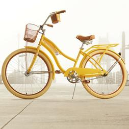 Huffy 26 Inch Girls - Womens Nel Lusso Cruiser Bike with Per
