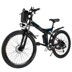 26 inch 36V Foldable Electric Power Mountain Bicycle with Li