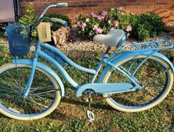 Huffy 26 inch Marietta Women's Cruiser Bike with Fit Frame
