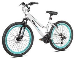 "KENT 26"" KZR MOUNTAIN WOMEN'S BIKE, WHITE/TEAL *DISTRESSED P"