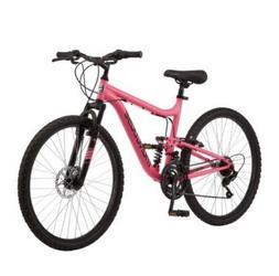 """Mongoose 26"""" Major Mountain Bike, Pink"""