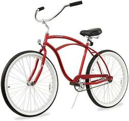 "26"" Men Beach Cruiser Bicycle Bike Firmstrong Urban matte re"