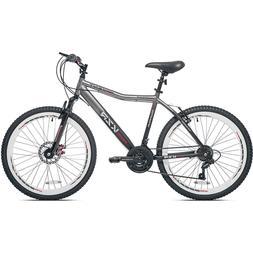 """Kent 26"""" Men's KZR Front Suspension Mountain Bike, Gray-blac"""
