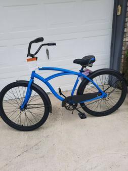 """HUFFY 26"""" MENS CRANBROOK CRUISER BIKE CYCLE BLUE NEW"""