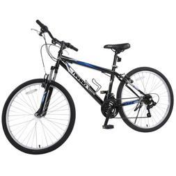 """26"""" Men's Mountain Bike 18 Speed Hybrid Bicycle Shimano Sc"""