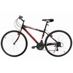 26'' Mountain Bike Hybrid 18 Speeds Front Hard tail Suspensi