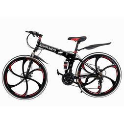 26'' Mountain Bike Hybrid 21 Speeds Front Hard tail Suspensi