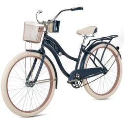 "Huffy 26"" Nel Lusso Women's Beach Cruiser Bike, Blue - Brand"