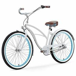 "26"" sixthreezero BE Three Speed Beach Cruiser Women's Bicycl"