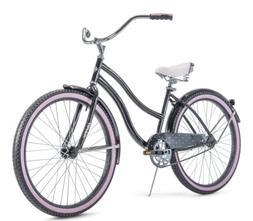 """HUFFY 26"""" WOMEN'S CRANBROOK CRUISER BIKE RARE Gray/Purple"""
