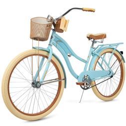 "Huffy 26"" Womens Nel Lusso Cruiser Bike Perfect Fit Frame, B"