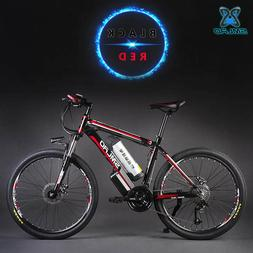 26inch Hydraulic disc brake 27speed electric mountain <font>