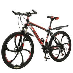 26Inch mountain Bike Shimano 21 Speed Mens Bicycle Full Susp