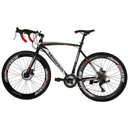 "27.5"" Folding Mountain Bike 21 Speed Full Suspension Mens Bi"