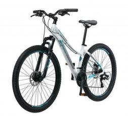 Schwinn 27.5 inch Aluminum Comp Womens Mountain Bike - White