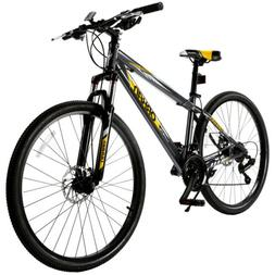 "27.5"" Men's Mountain Bike 21 Speed Bicycle Shimano Hybrid Sp"
