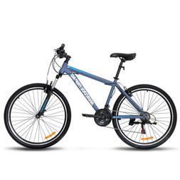 "27.5"" Men's Mountain Bike Shimano Hybrid 21 Speed Front Susp"